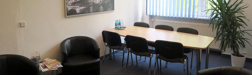 Besprechnungsraum der Rechtsanwaltskanzlei Christian Berg